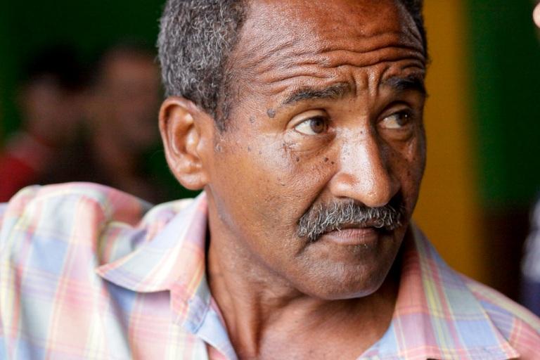 Omar Acea, jefe del taller
