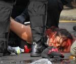 Brutalidad policial contra manifestantes