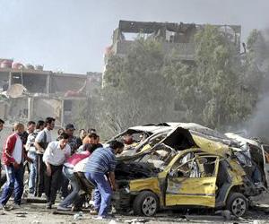 Atentados en Damasco