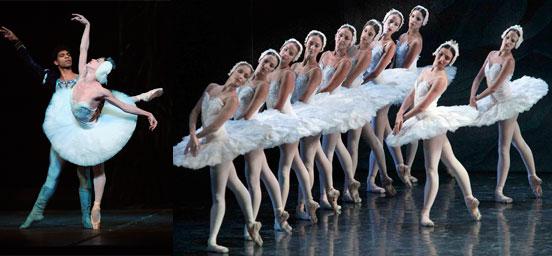 Ballet Nacional de Cuba en China.