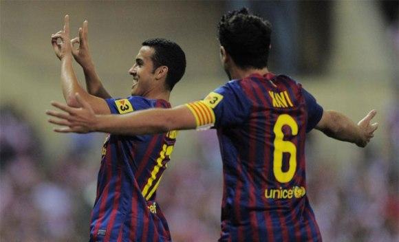 El tinerfeño firmó el 0-3  Foto: AFP