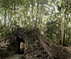 En esta ruina en Guatemala fue hallado el calendario. Foto: Reuters