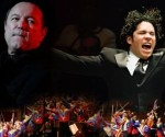 Rubén Blades, Dudamel y la Orquesta Sinfónica Simón Bolivar