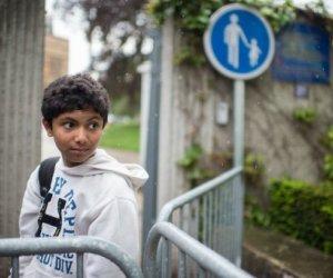 El niño prodigio oriundo de Bangladesh, Fahim Alam, que a los 11 años se consagró campeón de ajedrez de Francia. Foto: Martin Bureau/AFP