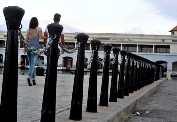 Reanimación de la Avenida del Puerto. Foto: Ladyrene Pérez/Cubadebate.