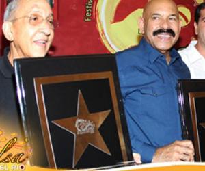 Juan Formell y Oscar de León, en Festival Internacional de la Salsa