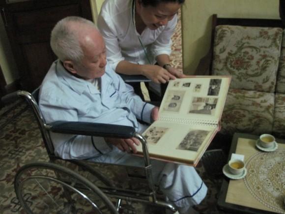 Con Ly Van Sau en Hanoi. Foto: Cubadebate