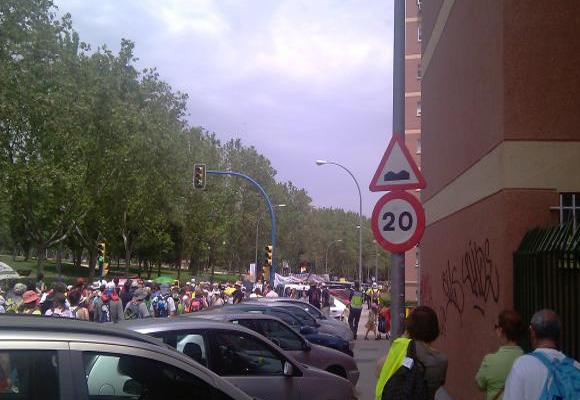 Marchas provenientes de varias partes de la ciudad confluirán en La Puerta del Sol