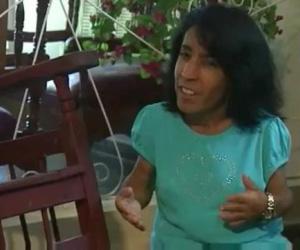 María Bárbara, la mujer más pequeña de Cuba