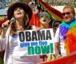 Mariela Castro encabeza marcha contra la homofobia