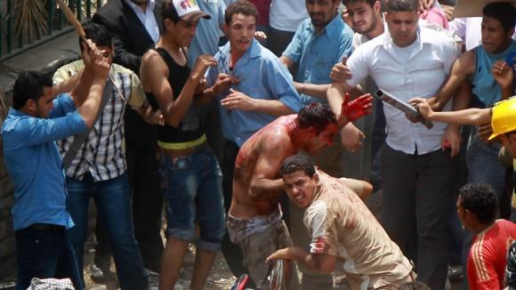 Muertos en El Cairo, Egipto.