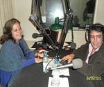 """Olguita en la radio departamental """"Magoya"""""""