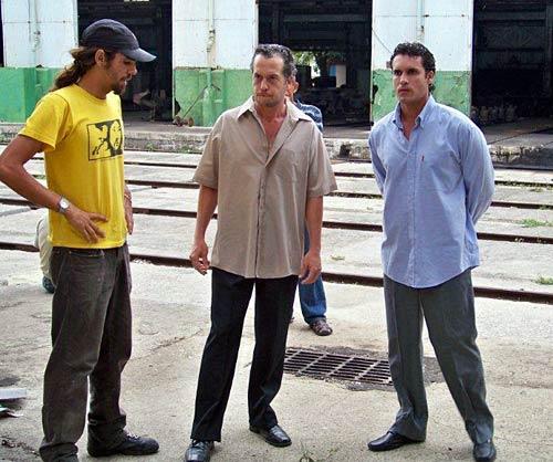 De izquierda a derecha: Pedro Luis Rodríguez, Roque Moreno y Yadier Fernández.