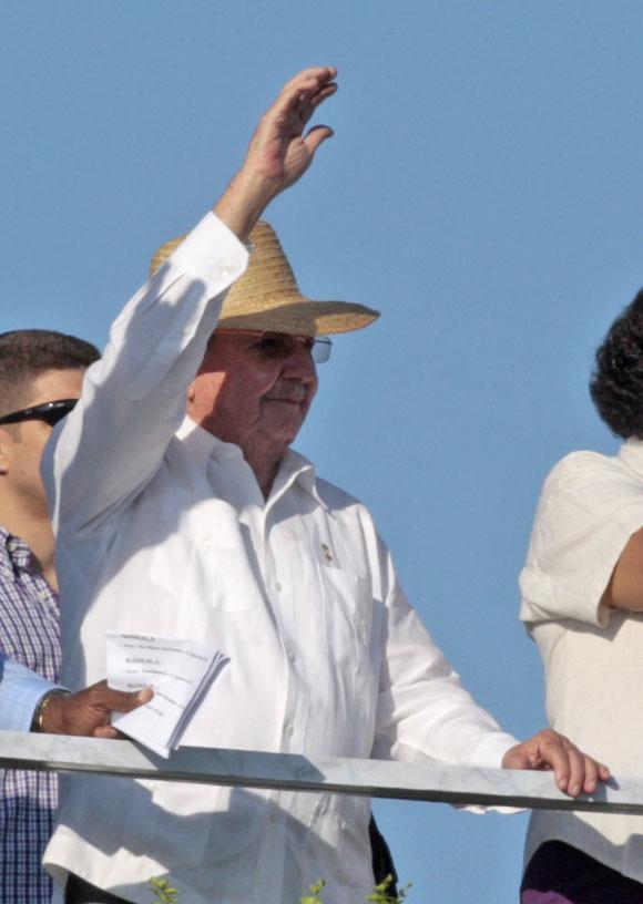 Desfile por el Primero de Mayo. Foto: Ladyrene Pérez/Cubadebate