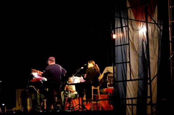 Un escenario en Reina. Foto: Alejandro Ramírez Anderson/ Cubadebate
