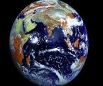 Imagen tomada por el satélite ruso Elektro-L
