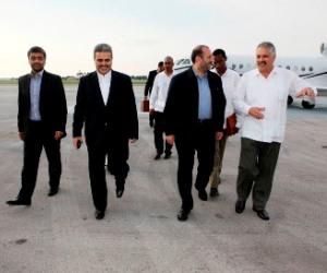 Llega vicepresidente iraní a Cuba