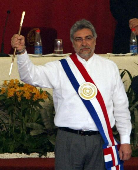 Toma de Posesión del presidente de Paraguay Fernando Lugo, en el Congreso Nacional. Foto: Ismael Francisco/Cubadebate.