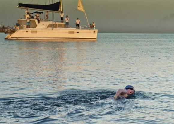 Hacia el Estrecho de la Florida. Foto: AFP