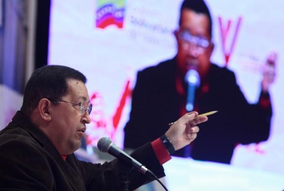 Hugo Chávez. Foto: Prensa Miraflores.