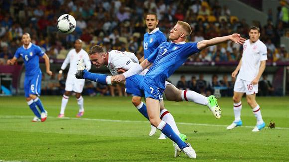 Acción total. Foto: UEFA.
