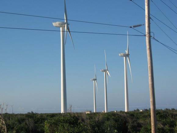El parque experimental de aerogeneradores en Gibara, Holguín