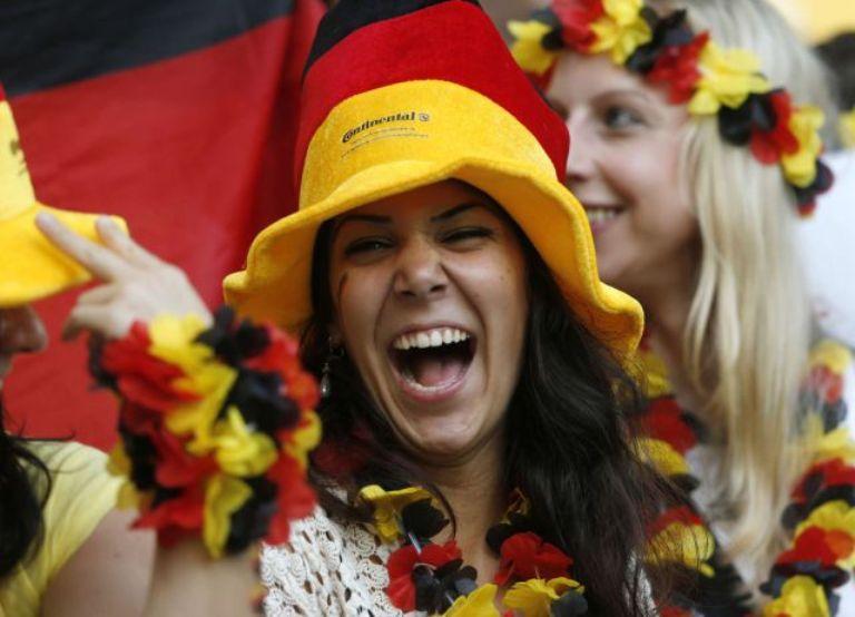 Alemania contó con apoyo desde las gradas. Foto: Reuters.
