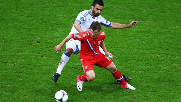Arshavin, una estrella que deja la Euro. Foto: UEFA.
