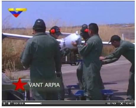 El drone venezolano, Arpia-001