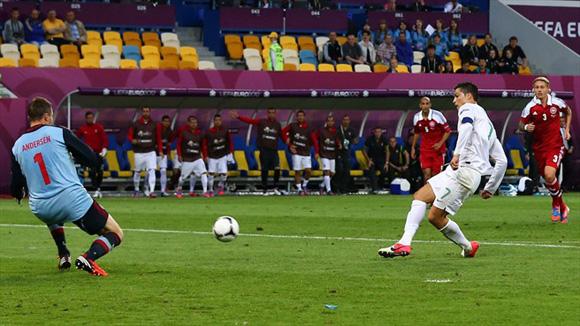 Cristiano tuvo fallas infantiles. Foto: UEFA.