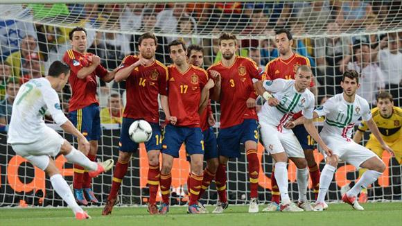 Mala noche. Foto: UEFA.