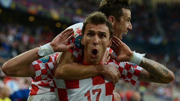 Croacia está de fiesta. Foto: UEFA.