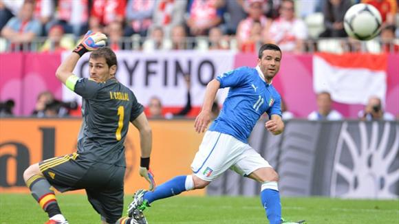 Di Natale marcó un golazo. Foto: UEFA.
