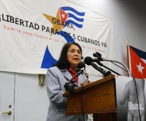 Luchadora por derechos civiles en EEUU aboga por liberación de los Cinco