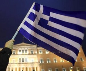Greek Workers Protest Shady Bank Privatization