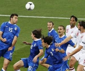 Italia pasa a la semifinal. Foto: EFE