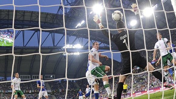 Vano esfuerzo. Foto: UEFA.