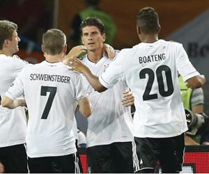 Gómez marcó dos veces. Foto: Reuters.