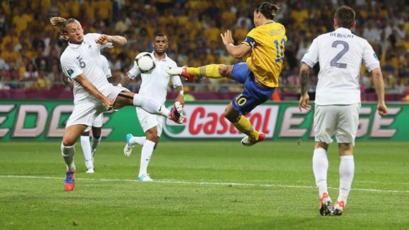 La tijera del crack. Foto: UEFA.