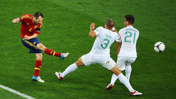 Iniesta ha sido la cara de España. Foto: UEFA.