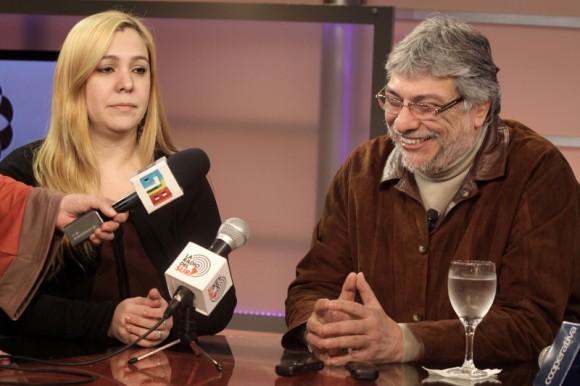 Lugo en la Televisión de Paraguay