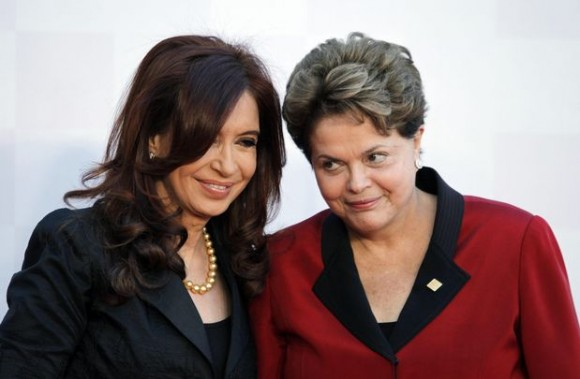 Cristina Kirchner y Dilma Rousseff.