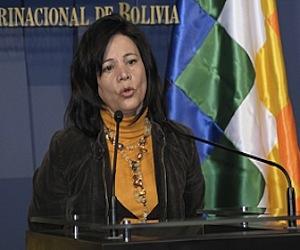 Ministra de Comunicación de Bolivia