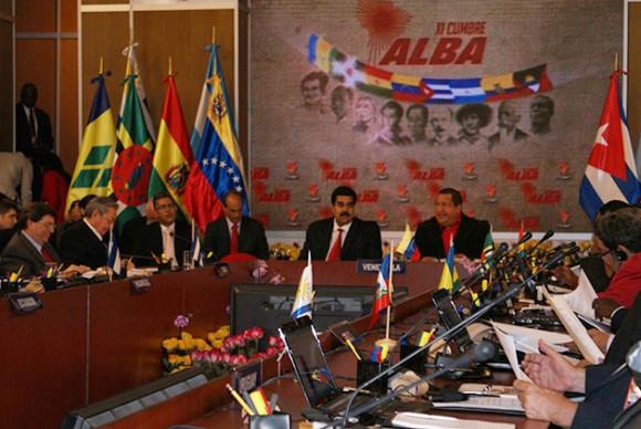 Reunión de los países del ALBA. Foto: Archivo