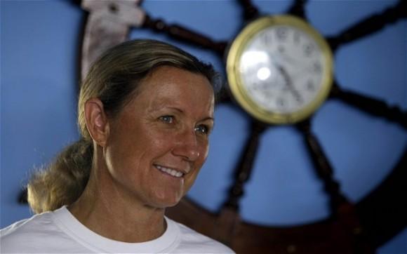 Penny Palfrey en La Habana. Foto: AP