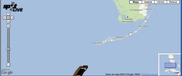 Su hora local:  30 de junio de 2012 9:48:23 a.m. EDT  Coordoinación: (WGS84)  23.80863 , -82.2536  Message Detail: