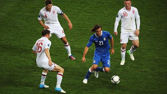 Pirlo dictó una conferencia. Foto: UEFA.