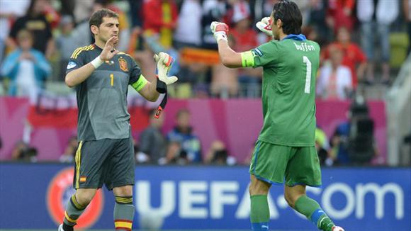 Saludo de reyes. Foto: UEFA.