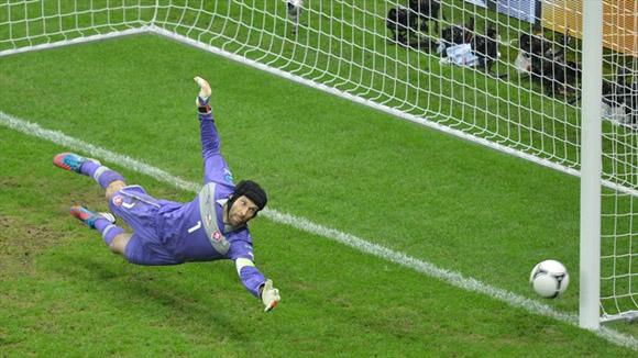 Un poste en el camino. Foto: UEFA.