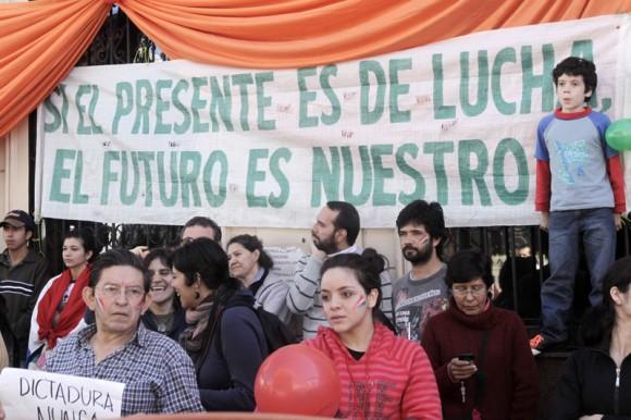 Protestas en Paraguay contra el Golpe de Estado